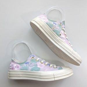 Converse Chuck 70 Palm Print Low Top Barely Rose